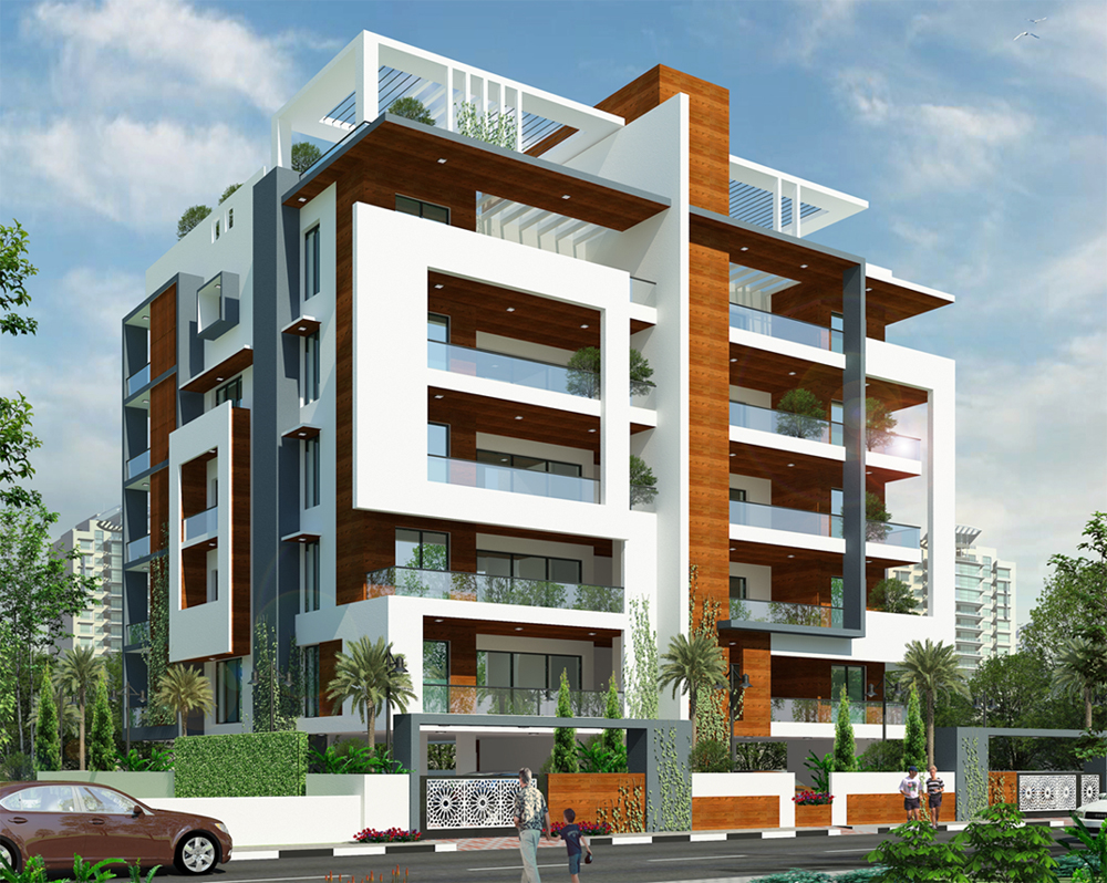 Modern Apartment Building Elevations Home Design Healthsupportus
