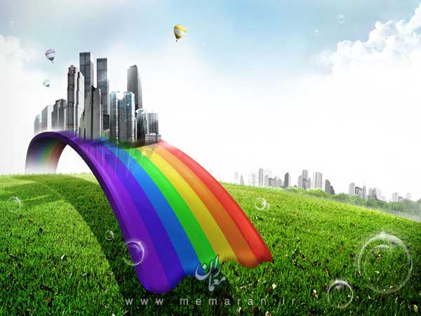 creative-rainbow-city-psd